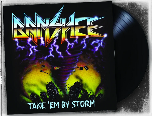 BANSHEE - TAKE EM BY STORM (BLACK VINYL)