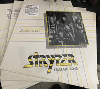 Stryper - Together As One (*NEW-Vinyl, 1985, Enigma)