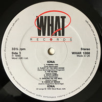 IONA - IONA (*Like New-Vinyl, 1990, What? Records) U.K. Import