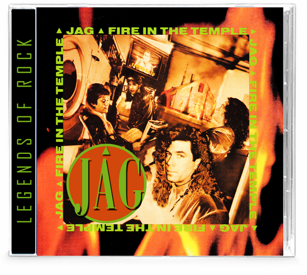 JAG - Fire In the Temple (CD) AOR Hard Rock, WhiteHeart & GIANT members