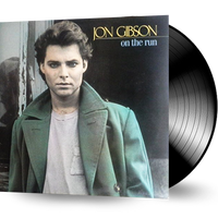 JON GIBSON - ON THE RUN (*NEW-VINYL, 1986, Frontline) Joe Satriani