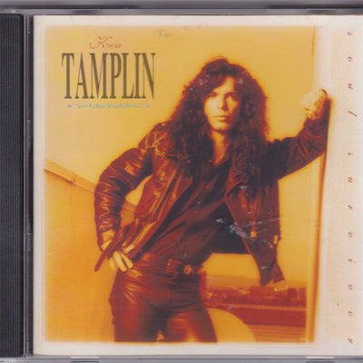 KEN TAMPLIN - SOUL SURVIVOR (Used-CD, 1991, Intense Records) Original Issue