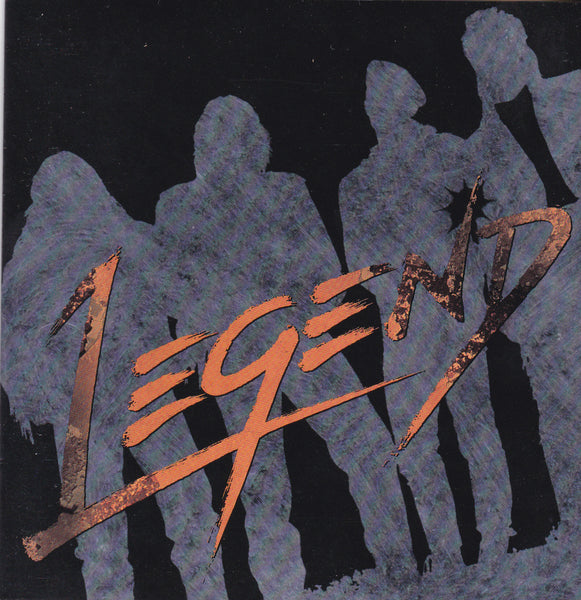 LEGEND - LEGEND (*Used-CD, 1992, Word) band formerly known as Ruscha