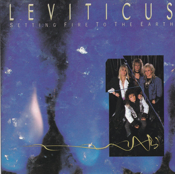 LEVITICUS - SETTING FIRE TO THE EARTH (*Used-CD, 1989, Pure Metal Records)