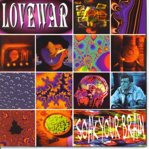 LOVEWAR - SOAK YOUR BRAIN (*Used-CD, 1993, Pakaderm)
