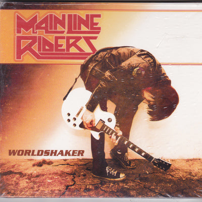 MAINLINE RIDERS - WORLDSHAKER (CD, 2009, Retroactive) for fans of AC/DC!