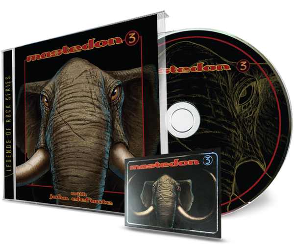MASTEDON - 3 + Trading Card (*NEW-CD, 2020, Girder Records) John Elefante & Kerry Livgren of Kansas