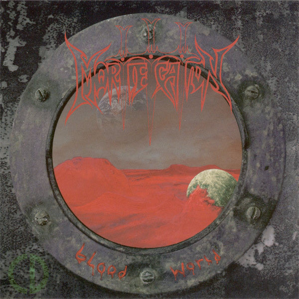 MORTIFICATION - BLOOD WORLD (*NEW-CD, 1994, Intense Records) Original Issue