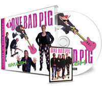 ONE BAD PIG - SMASH + Trading Card (*NEW-CD, 2020, Girder Records) Remastered