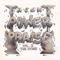 ROCK POWER PRAISE - VOLUME 1: HYMNS (*Used-CD, 1990, Pakaderm) Halo, Barren Cross, Guardian play