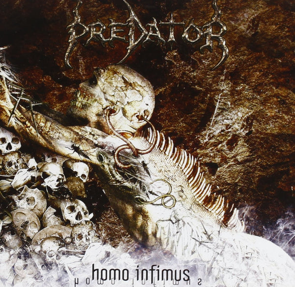 Predator ‎– Homo Infimus (*Pre-Owned CD, 2012, Death Toll) mainstream death metal