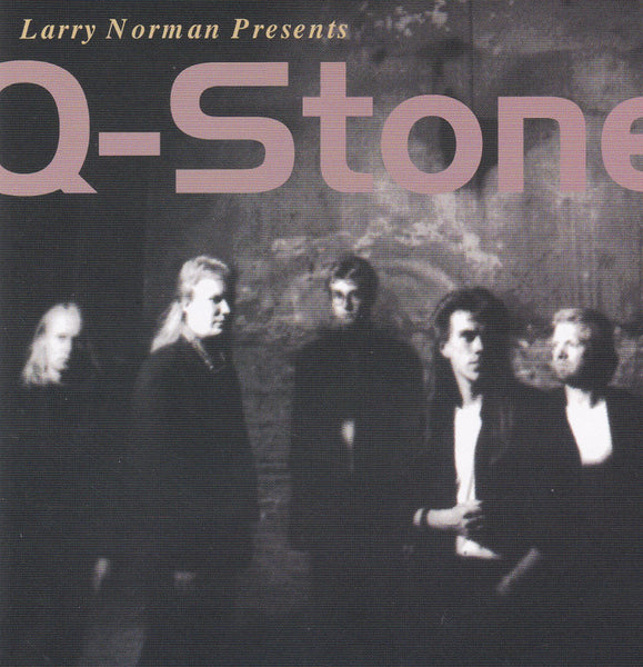 LARRY NORMAN PRESENTS Q-STONE- DEBUT (*CD, 1989/2000, Solid Rock) Southern Rock