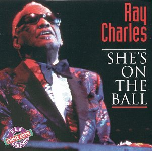 RAY CHARLES - SHE'S ON THE BALL (*Used-CD, 1995 Retro Music) Classic cuts
