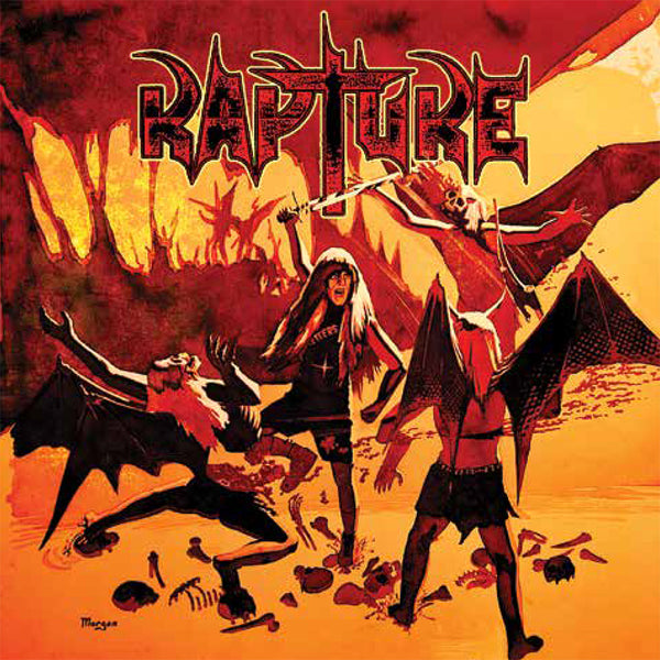 RAPTURE - VACATION FROM HELL: The Demos 1985-1997 (2-CD Set, 2019, Retroactive) Elite THRASH!