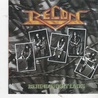 RECON - BEHIND ENEMY LINES (*Used-1990, Intense Records)
