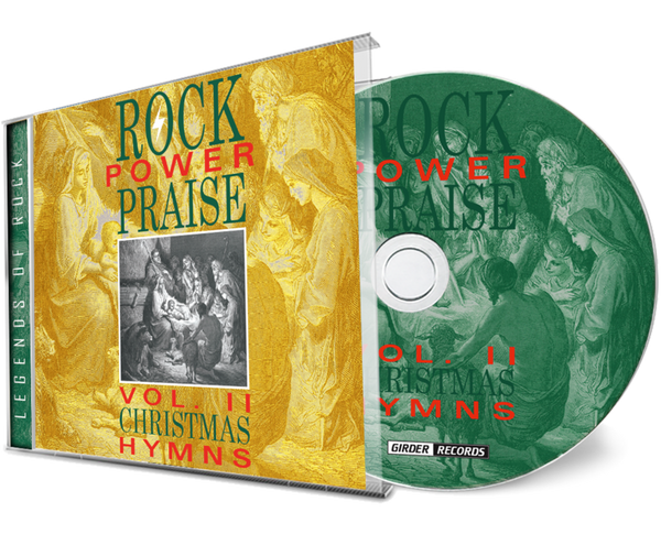Rock Power Praise Vol. 2 - Christmas Hymns (CD) 2020 Girder, Remastered
