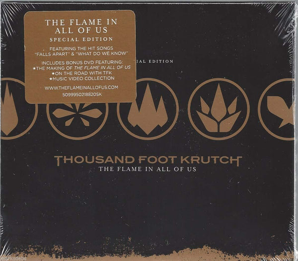 THOUSAND FOOT KRUTCH - THE FLAME IN US ALL (*Pre-owned CD + DVD Set) with slipcase
