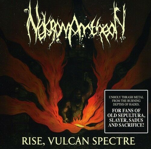 Nekromantheon ‎– Rise, Vulcan Spectre (*Pre-Owned CD, 2012, Indie Records) Old School THRASH!