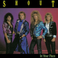 Shout ‎– In Your Face (*Pre-Owned CD, 1989, Frontline) Original Issue