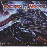 SACRED WARRIOR - MASTER'S COMMAND (CD, 2017, Roxx) Remastered Reissue Metal
