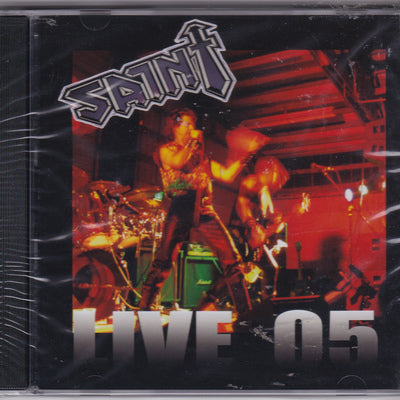 SAINT - LIVE 05 (2005, Armour Records)
