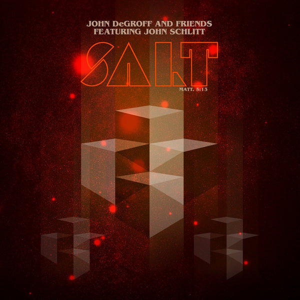JOHN DeGROFF - SALT (*NEW-CD, 2018, Rottweiler) John Schlitt vocalist PETRA