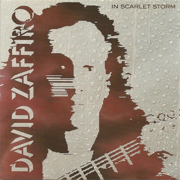 DAVID ZAFIRRO - IN SCARLET STORM (*NEW-CD, 1990, Intense Records) Original Issue