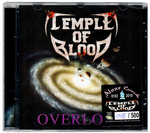 Temple of Blood - Overlord (CD) 2019 REMASTERED + NUMBERED Thrash Metal (*PRE-ORDER)