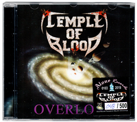 TEMPLE OF BLOOD - OVERLORD (CD) 2019 REMASTERED + NUMBERED Thrash Metal