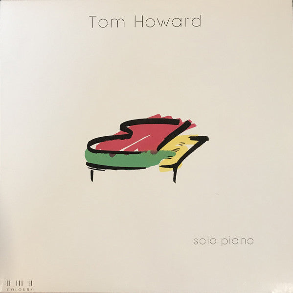 TOM HOWARD - SOLO PIANO (*NEW-Translucent Vinyl, 1987, Maranatha! Music)