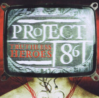 PROJECT 86 - TRUTHLESS HEROES (*Used-CD, 2002, Tooth-n-Nail) enhanced CD