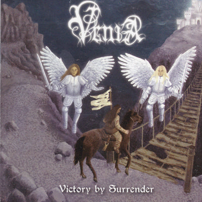 VENIA - VICTORY BY SURRENDER (CD, 2009, Open Grave) Female fronted power/thrash metal