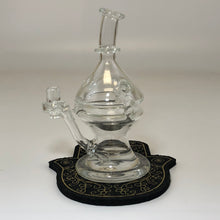Prototype Faberege Egg by Snit Glass