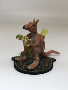 Kangaroo Rig By Down Under Glass with illuminati gloves