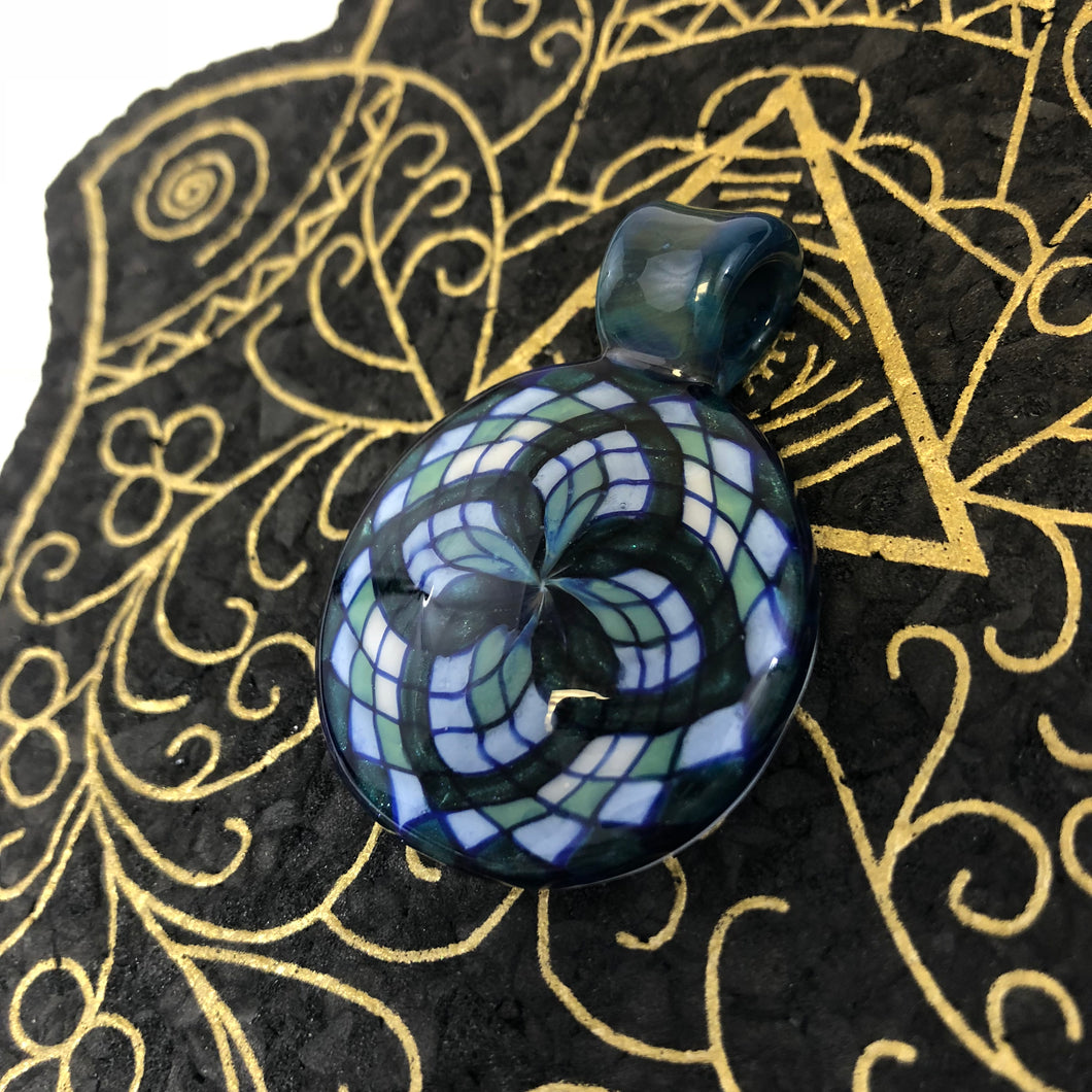 Filla Cello pendant by Takoda Madrona