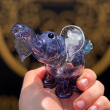 Parralax micro elephant by Flame Princess Glass