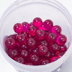 REAL RUBY DAB PEARLS 6MM