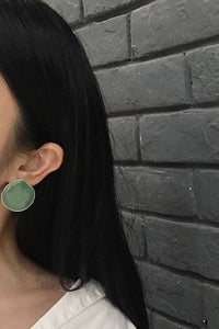 Organic Shape Flat Earrings - Another Great Day
