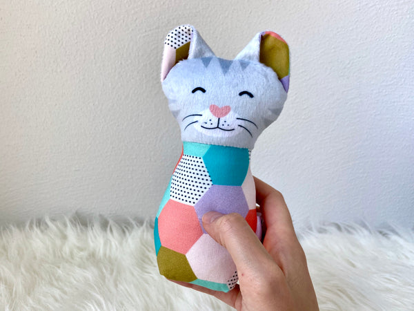 custom plush cat