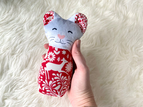 clearance: custom valentine plush animal
