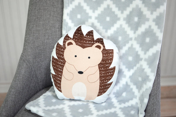 Hedgehog Stuffed Animal Pillow