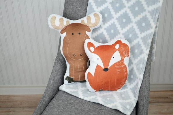Woodland Set of Two Pillows, You Choose Styles
