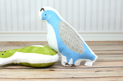 Quail Plush Animal Pillow