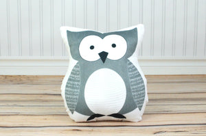 owl plush animal pillow