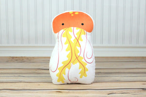 jellyfish plush animal pillow