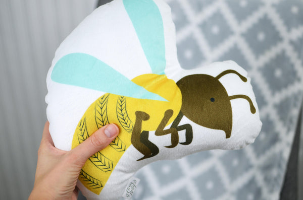 Yellow Jacket Plush Pillow