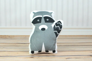 Raccoon Stuffed Animal Pillow