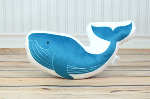 Whale Stuffed Animal Pillow