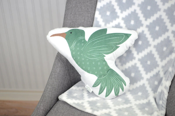 Hummingbird Stuffed Animal Pillow