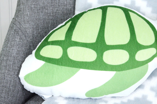 turtle stuffed animal pillow